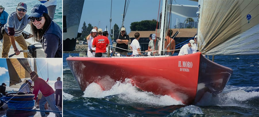 Sailing Team-Building Event In San Diego